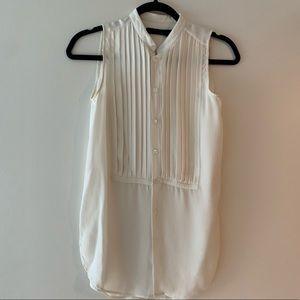 Ralph Lauren tuxedo shirt 100% silk